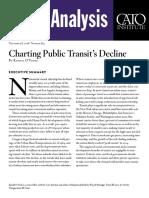 Charting Public Transit's Decline