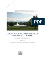 Plan for Denver's City Park