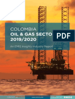 EMIS Insights - Colombia Oil and Gas Sector 2019_2020