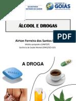 uso de Alcool e Droga