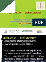 Neoplasias.- Generalidades