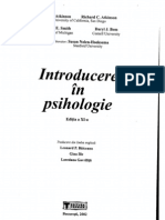 Atkinson - Introduce Re in Psihologie Tomul 1
