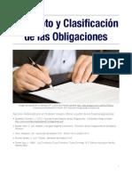 Unidad 1. Recurso 2. Concepto y Clasificación de Las Obligaciones