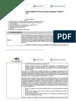 evaluacion formativa clases multigrados