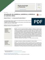 Actualizacion de Prebioticos, Probioticos y Simbioticos