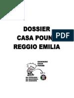 Dossier CasaPound Reggio Emilia