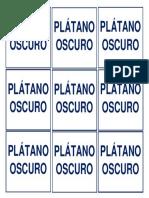 ROTULO PLATANO OSCURO