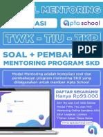 Modul mentoring program SKD
