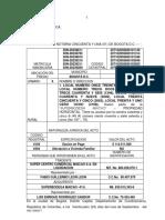 RAD 63852 DACION MEGAOUTLET  LOCALES  SUPER CENTRO COMERCIAL MAICAO EN LIQUIDACION A SUPERBODEGA MAICAO.docx