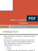 6 - Food Handling in Islam