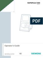 RAPIDPoint500 Operator s Guide English - Rev B DXDCM 09008b83808a0a84-1550628884935