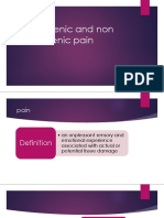 Odontogenic and Non Odontogenic Pain