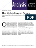 How Markets Empower Women