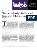 Terrorists by Immigration Status and Nationality