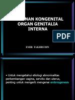 KELAINAN KONGENITAL ORGAN GENITALIA INTERNA.ppt