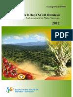 Statistik Kelapa Sawit Indonesia 2012