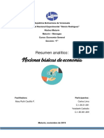 Economia General Resumen Analitico