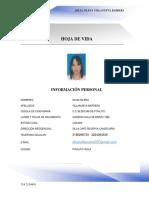 Hoja de Vida Dilsa Islena Villanueva