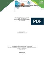 Informe Componente Práctico Unidad 3 Disposición Final de Residuos Sólidos en Relleno Sanitario Pirgua