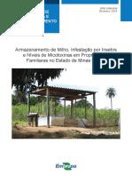 Armazenamento de Milho, Infestação por Insetos e Níveis de Micotoxinas em Propriedades Familiares no Estado de Minas Gerais