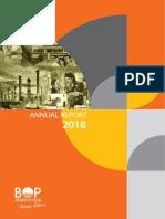 BOP Annual Report 2018