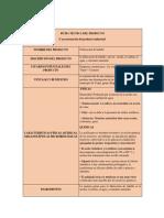 Ficha Tecnica Fabricacion de Ladrillo