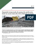 Segunda Temporada de Pesca de Anchoveta Tiene La Cuota Más Alta de La Historia en Perú _ AméricaEconomía _ AméricaEconomía