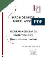 1. Protocolo de Actuación 2018