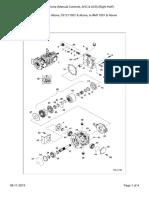 Hydrostatic Pump (Manual Controls, AHC & ACS) (Right Half)_S300