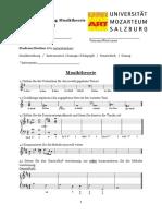 Zl 19 Musiktheorie