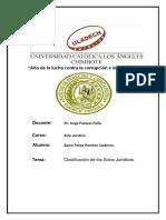 Actividad N° 04  Clasificacion De Los Actos Juridicos - Acto Juridico.docx
