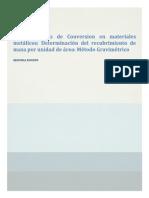Resumen de la ISO 3892