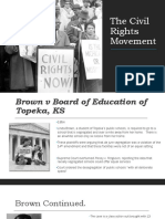 the civil rights movement part 1