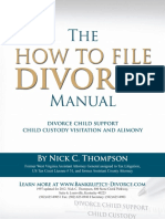 How to File Divorce Manual