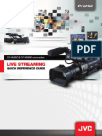 Jvc Live Streaming Guide