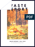 """Dr. Rand Paul's Fall 2019 Edition of """"The Waste Report"""""""