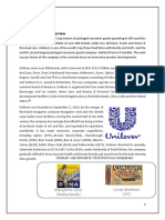 Report on Unilever