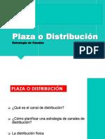 Marketing - Sesión 12 - Plaza
