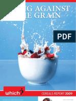 Cereals Report