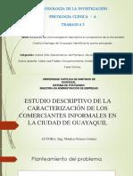 Estudio Descriptivo de La Caracterización de Los Comerciantes