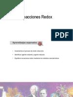 Reaccionde re reducción y oxidación