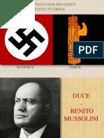 Cap 5 - Ascensão Dos Regimes Totalitários Na Europa