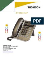ST2022 SIP - Admin Guide v1