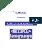 HTML Language Tutorial