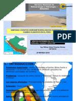 Vientos Extremos en La Costa Peruana, Causas y Efectos