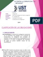 Clasificacion de Las Obligaciones - Copia