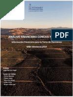 Analisis Financiero Concha y Toro - Primera Entrega
