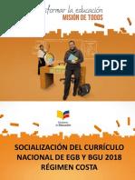 PUD Socialización Costa Marzo 2017