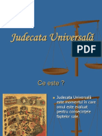 jUDECATA UNIVERSALA