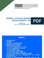 Eventos Extremos en la Región San Martín